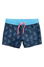 Dark blue/Anchor