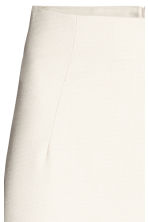 Pencil skirt - Light beige/Pattern - Ladies | H&M 2