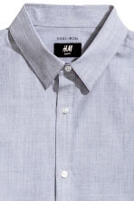 Camicia easy-iron Slim fit - Grigio/chambray - UOMO | H&M IT 3