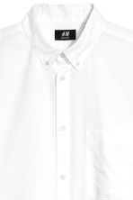 Camisa Regular fit - Blanco - HOMBRE | H&M ES 3