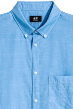 Shirt Regular fit - Blue/Chambray - Men | H&M 3