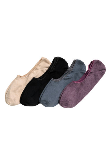 4-pack liner socks - Black/Grey - Men | H&M 1
