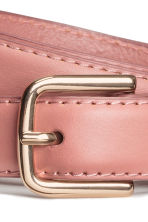 Leather belt - Vintage pink - Ladies | H&M 3