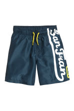 Swim shorts - Dark blue - Kids | H&M CN 1