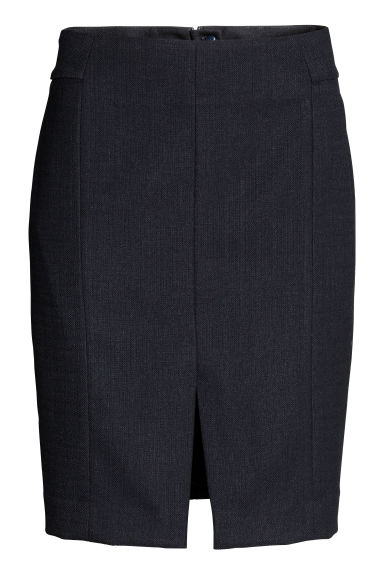 Short skirt - Dark blue - Ladies | H&M CN 1