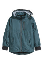 Fully lined jacket - Dark blue-green - Kids | H&M CN 2