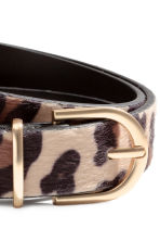 Narrow belt - Leopard print - Ladies | H&M CN 3