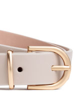 Narrow belt - Light grey - Ladies | H&M 3