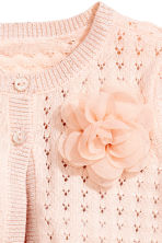 Fine-knit bolero - Powder pink - Kids | H&M CN 2
