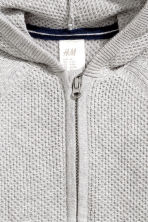 Hooded cardigan - Grey marl - Kids | H&M 2