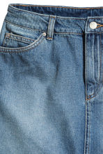 Short denim skirt - Denim blue - Ladies | H&M 2