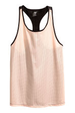 Sports vest top - Powder pink - Ladies | H&M 2