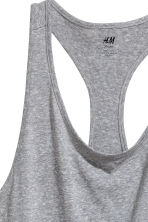 Sports vest top - Grey marl - Ladies | H&M CN 4