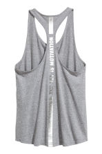 Sports vest top - Grey marl - Ladies | H&M CN 3