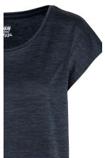Sports top - Dark blue marl -  | H&M 3