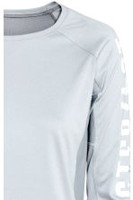 Running top - Light grey -  | H&M 3