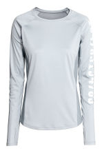 Running top - Light grey -  | H&M 2