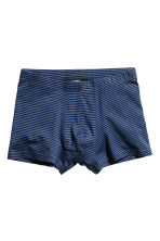 3-pack boxer shorts - Dark blue/Palms - Men | H&M CN 2