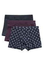 3-pack boxer shorts - Dark blue/Anchor - Men | H&M 2