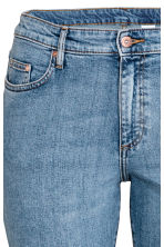 H&M+ Relaxed Skinny Jeans - Denim blue - Ladies | H&M 4