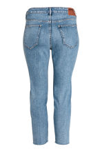 H&M+ Relaxed Skinny Jeans - Denim blue - Ladies | H&M 3