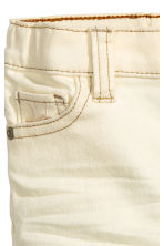 Stretch trousers Skinny Fit - Natural white - Kids | H&M CN 2