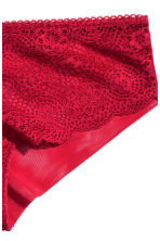 Lace hipster briefs - Red - Ladies | H&M CN 3
