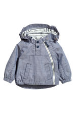戶外運動外套 - Dark blue marl - Kids | H&M 1