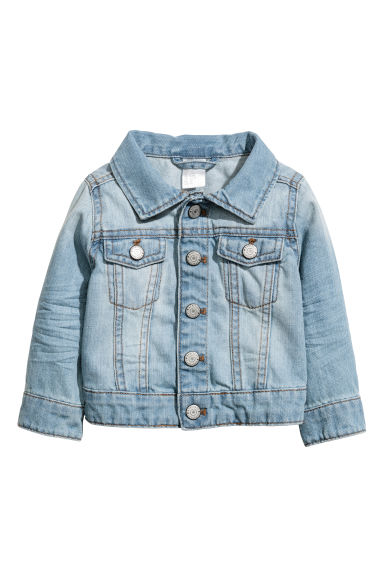 Denim jacket - Light denim blue - Kids | H&M
