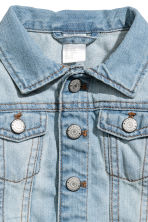 Denim jacket - Light denim blue - Kids | H&M CN 2