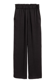 Wide pull-on trousers