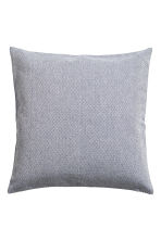 Textured cushion cover - Dark blue - Home All | H&M CN 1