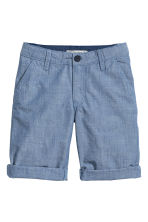 Chino shorts - Blue/Chambray -  | H&M 2