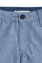 Chino shorts - Blue/Chambray -  | H&M 3