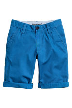 Chino shorts - Cornflower blue -  | H&M 2
