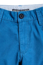 Chino shorts - Cornflower blue -  | H&M 3