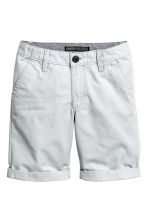 Chino shorts - Light grey -  | H&M 2