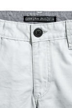 Short chino - Gris clair -  | H&M FR 3