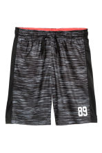 Sports shorts - Dark grey marl -  | H&M 2