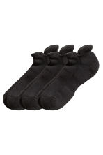 3-pack sports socks - Black - Men | H&M CN 1