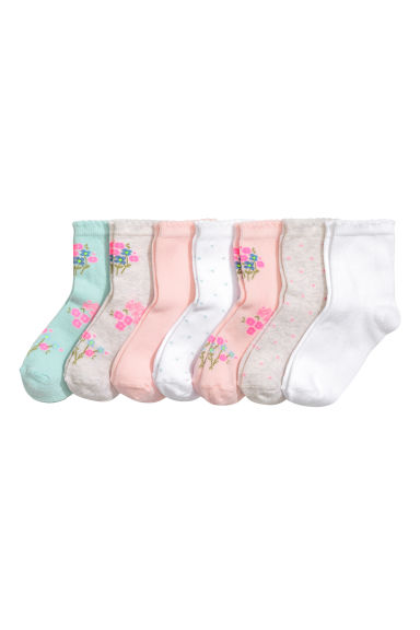 7-pack socks - Mint green - Kids | H&M 1