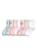 7-pack socks - Mint green - Kids | H&M CN 1