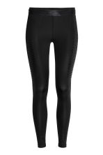 Leggings da running - Nero - DONNA | H&M IT 1