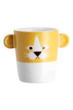 Tazza con animaletto - Giallo/leone - HOME | H&M IT 2