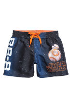 Swim shorts - Dark blue/Star Wars -  | H&M 1