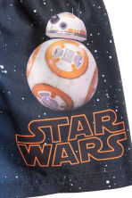 Swim shorts - Dark blue/Star Wars -  | H&M 2