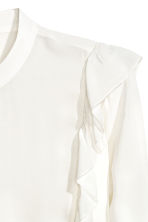 H&M+ Frilled blouse - White -  | H&M 3