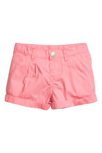 Cotton shorts - Pink - Kids | H&M CN 2