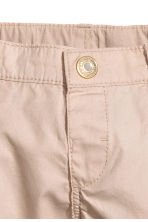Cotton shorts - Light beige - Kids | H&M CA 5