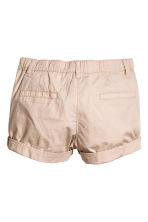 Cotton shorts - Light beige - Kids | H&M 3